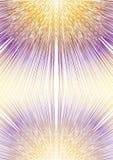 Rozmyty promienia kształt w lustrzanym składu, koloru żółtego i purpur projekcie, narzuty tło dla pokrywy, podręcznik, plakat, ul royalty ilustracja
