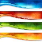 rozmyty sztandaru światło ilustracja wektor