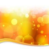 rozmyty tła światło - pomarańcze ilustracja wektor