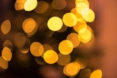 Rozmyty tło z obiektywu racy kropek światłami fotografia royalty free