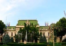 Roznovanu Palace Iasi Stock Photos