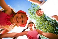 rozochoceni dzieci Fotografia Royalty Free