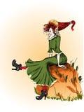 rozochocona czarownica Zdjęcie Royalty Free