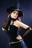 Rozochocona czarownica zdjęcia royalty free