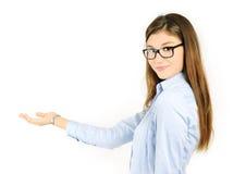 rozochocona dziewczyna Zdjęcia Stock