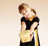 rozochocona dziewczyna Zdjęcia Royalty Free