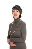 rozochocona kapeluszowa kobieta Zdjęcie Stock