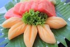 rozochocone owoców mieszania owocowe Fotografia Royalty Free