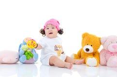 Rozochocony azjatykci dziecko Zdjęcie Stock