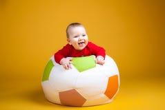 Rozochocony dziecka ono uśmiecha się Zdjęcie Royalty Free