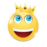 Rozochocony smiley Zdjęcia Royalty Free