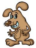 rozochocony kreskówka pies Zdjęcia Stock