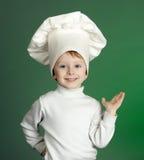 rozochocony kucharz obrazy royalty free