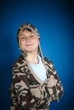 Rozochocony nastolatek Fotografia Royalty Free