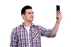 Rozochocony selfie Obrazy Royalty Free