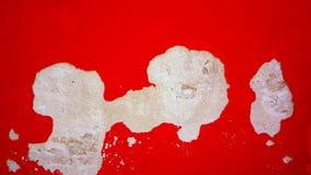 Rozpadowa czerwonego koloru ściana w Burano Obraz Stock