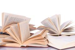 Rozpieczętowane książki Fotografia Stock
