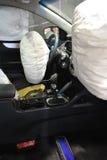 Rozpieczętowany airbag Zdjęcie Stock