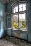 rozpieczętowany okno Obrazy Royalty Free