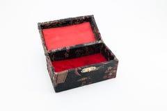 Rozpieczętowany prezenta pudełko Fotografia Royalty Free