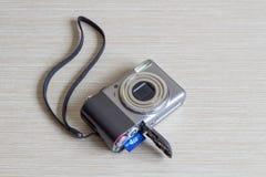 Rozpieczętowana cyfrowa fotografii kamera Obraz Royalty Free