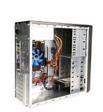 Rozpieczętowana system komputerowy jednostka. Obrazy Royalty Free