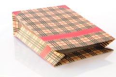 Rozporządzalna papierowa torba Obrazy Royalty Free