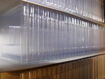Rozporządzalne Parafinowe tkanek foremki zdjęcie royalty free