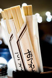 Rozporządzalni chopsticks Zdjęcie Royalty Free