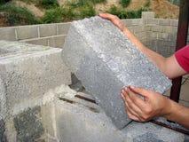 Rozprężony glina blok Zdjęcie Stock