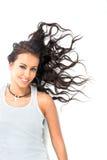 rozproszyć włosy g - girl. obrazy stock