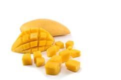 Rozprucie mango Zdjęcia Stock
