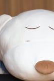 Rozprucie na twarzy faszerujący niedźwiedź Zdjęcia Royalty Free