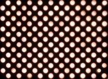 Rozprzestrzeniający czerwienie PROWADZĄCY światła Fotografia Stock