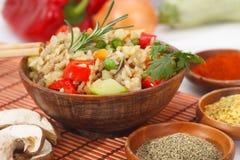 rozrasta się ryżowych warzywa obrazy royalty free