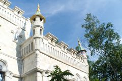 Rozrywka kompleks w parku Obrazy Royalty Free