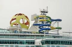 Rozrywka na cruiseship obrazy stock