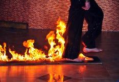 rozrywka ogień Obraz Stock