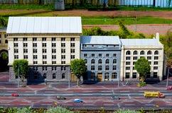 Rozrywka Parkowy Ukraina w miniaturze Mała skala Ukraina fotografia stock