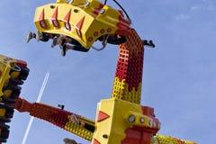 Rozrywkowa maszyna w Luna parku zdjęcie royalty free