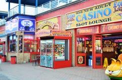 rozrywkowa sala Portsmouth Zdjęcia Royalty Free