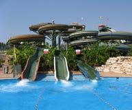 rozrywkowy aqua parku Fotografia Royalty Free