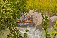 rozrywkowy ferris noc parka wektoru koło Obrazy Royalty Free