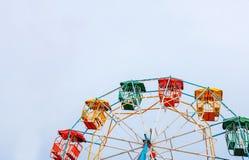 rozrywkowy ferris parka koło zdjęcia stock