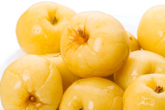 Rozsypisk kiszeni jabłka Obraz Stock