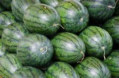 rozsypiska melonów woda Zdjęcia Royalty Free