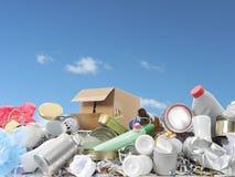 Gospodarstwo domowe śmieci Zdjęcia Stock