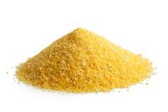 Rozsypisko cornmeal polenta Fotografia Stock
