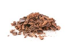 Rozsypisko czekolada Zdjęcia Royalty Free