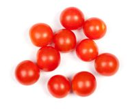Rozsypisko czereśniowi pomidory Zdjęcie Royalty Free